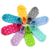 New 10 Pairs Candy Colors Set Ankle Length Socks
