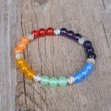 New 7 Chakra Beaded Yoga Bracelet For Men And Women