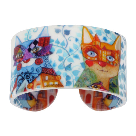 New Arrival Cat Lovers Bangle Cuff Bracelet
