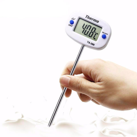 New Useful Rotatable Digital Kitchen Thermometer Baking/ Cooking Kitchen Tool