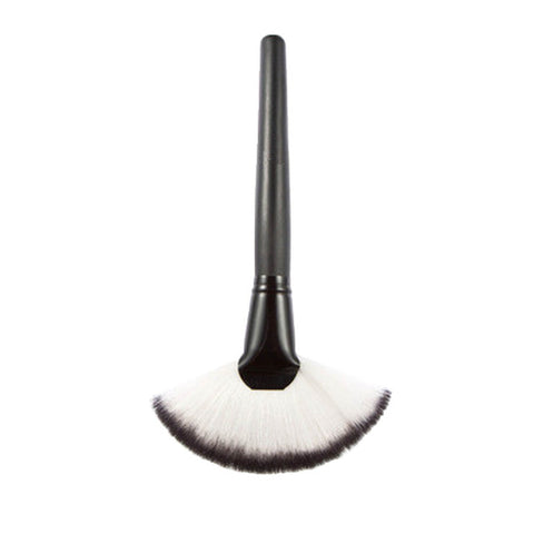 New Slim Fan Shaped Soft Highlight, Contour Makeup Brush Cosmetic Tool