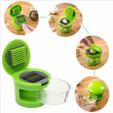 New Garlic Press, Chopper, Slicer And Crusher Kitchen Tool