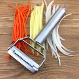 New Fun Useful Multipurpose Peeler, Julienne Peeler/ Grater Kitchen Tool