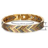 New Arrival Magnetic Stainless Steel Unisex Bracelet