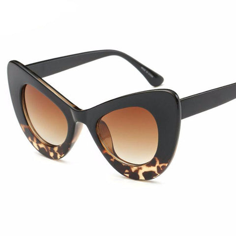 New Arrival Stylish Cat Eye Frame Sunglasses Shades