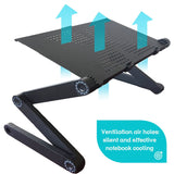 New Portable, Adjustable Laptop, Notebook Table/ Desk/ Bed Stand With Mouse Stand