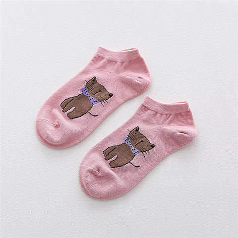 New Ankle length Cute Cat Socks