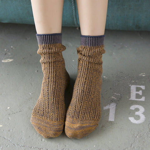 New Fashion Cotton Knitted Socks