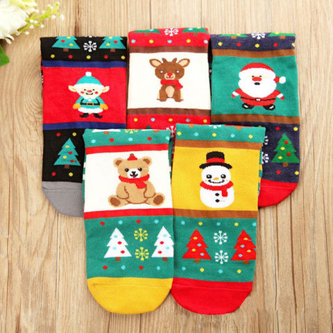 New Arrival Christmas Theme Happy Socks