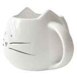 Cute White Cat Coffee Lovers Ceramic Mug