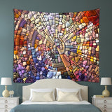 New Multipurpose Painted Glass Design Bohemian Style Mandala Wall Tapestry