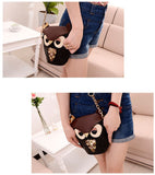 New Hot Trendy Cute Owl, Fox Messenger Bag Shoulder Bag Handbag