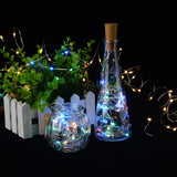 New LED String Lights In Wine Bottle With A Cork Stopper Christmas Party Decorations Home Decor