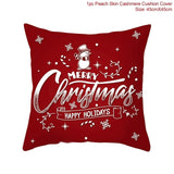 New Holiday/ Christmas Santa Claus Decorative Cushion / Throw Pillow Cover, Case For Bed/ Sofa Home Decor