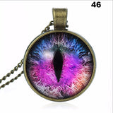 Charming Cat Eye Necklace Pendant