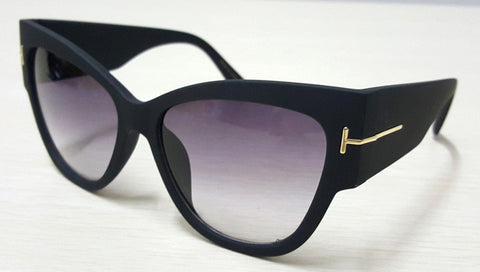 Luxury Designer Oversize Cat Eye Women Sunglasses