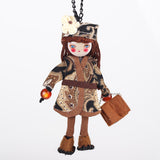 New Handmade Doll Statement Cloth Long Chain Pendant Necklace Trendy Jewelry for Women Accessories