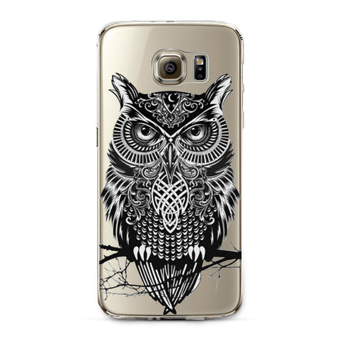 Ultra Thin Transparent Soft TPU Owls Cell Phone Back Cover Case For Samsung Galaxy