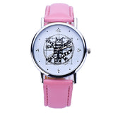 Cute Cat Wrist Watch Analog Quartz
