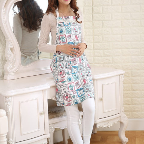 New Fashion Fun Patterns Cooking Apron KItchen Tool
