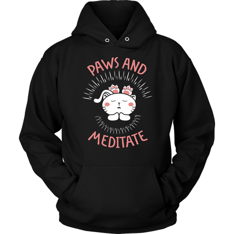Paws And Meditate Tshirt