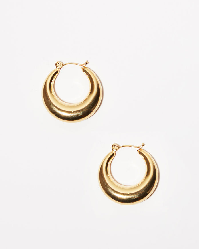 Gold Bold Hoops
