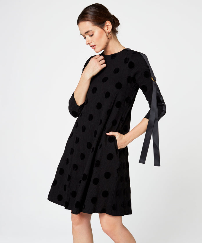 D-Ring Textured Dress