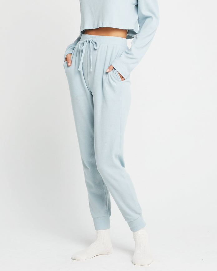 Cotton Blend Drawstring Sweatpant
