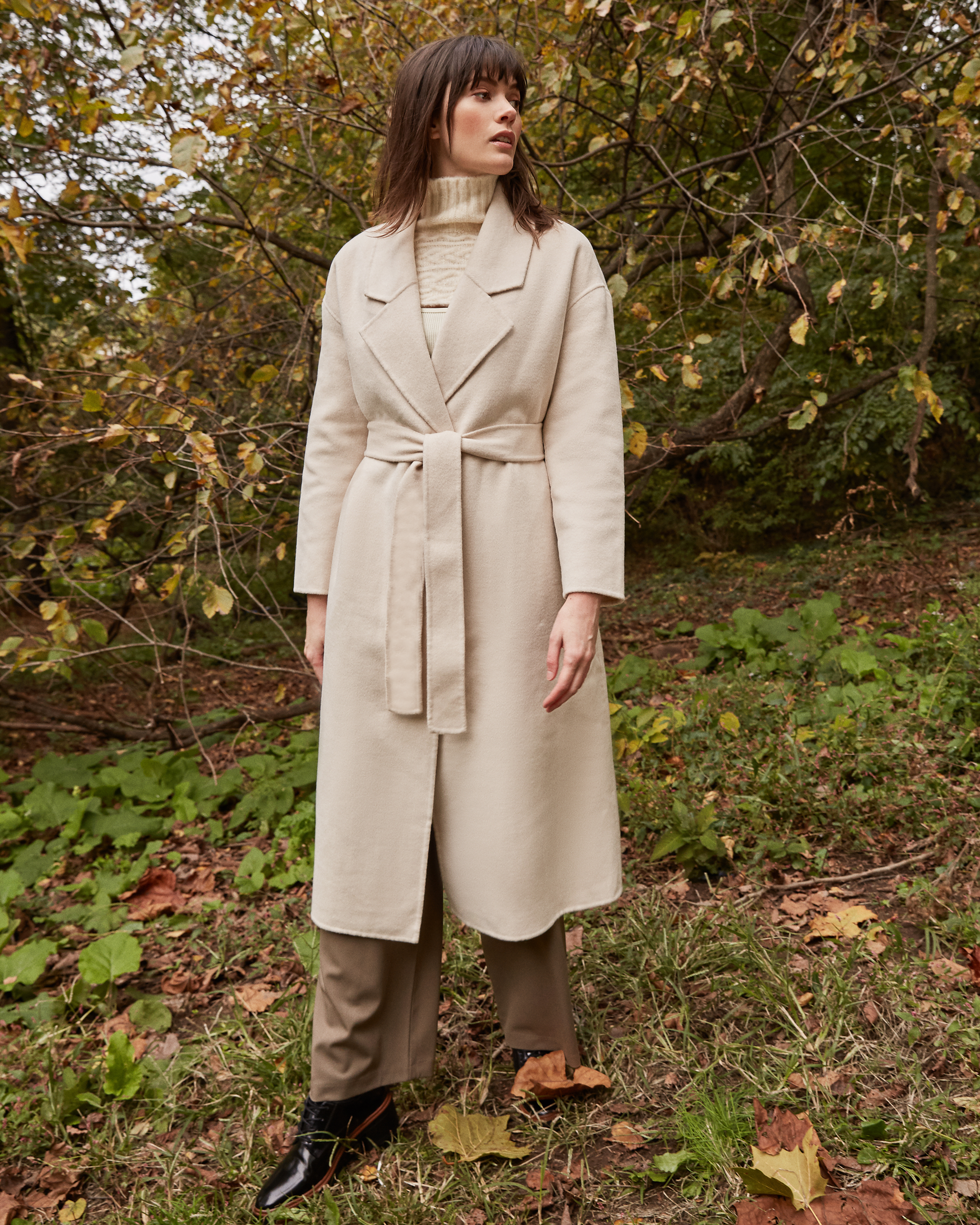 Belted Wool Coat