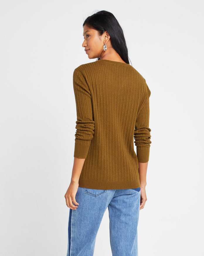 Wool Long Sleeve Henley Shirt