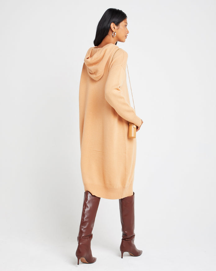 Cashmere Sweatshirt Dress
