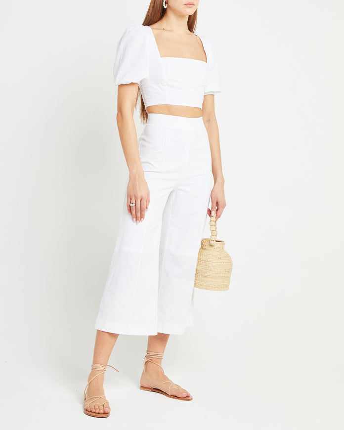 Cotton Linen Blend Sabine Two Piece
