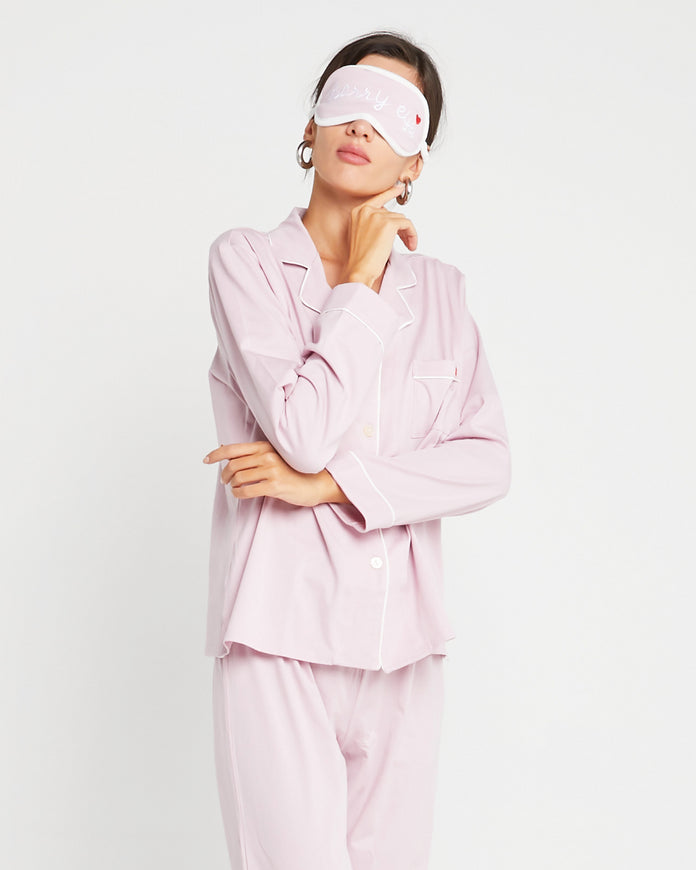 100 % Organic Cotton Rosy Sleep Set