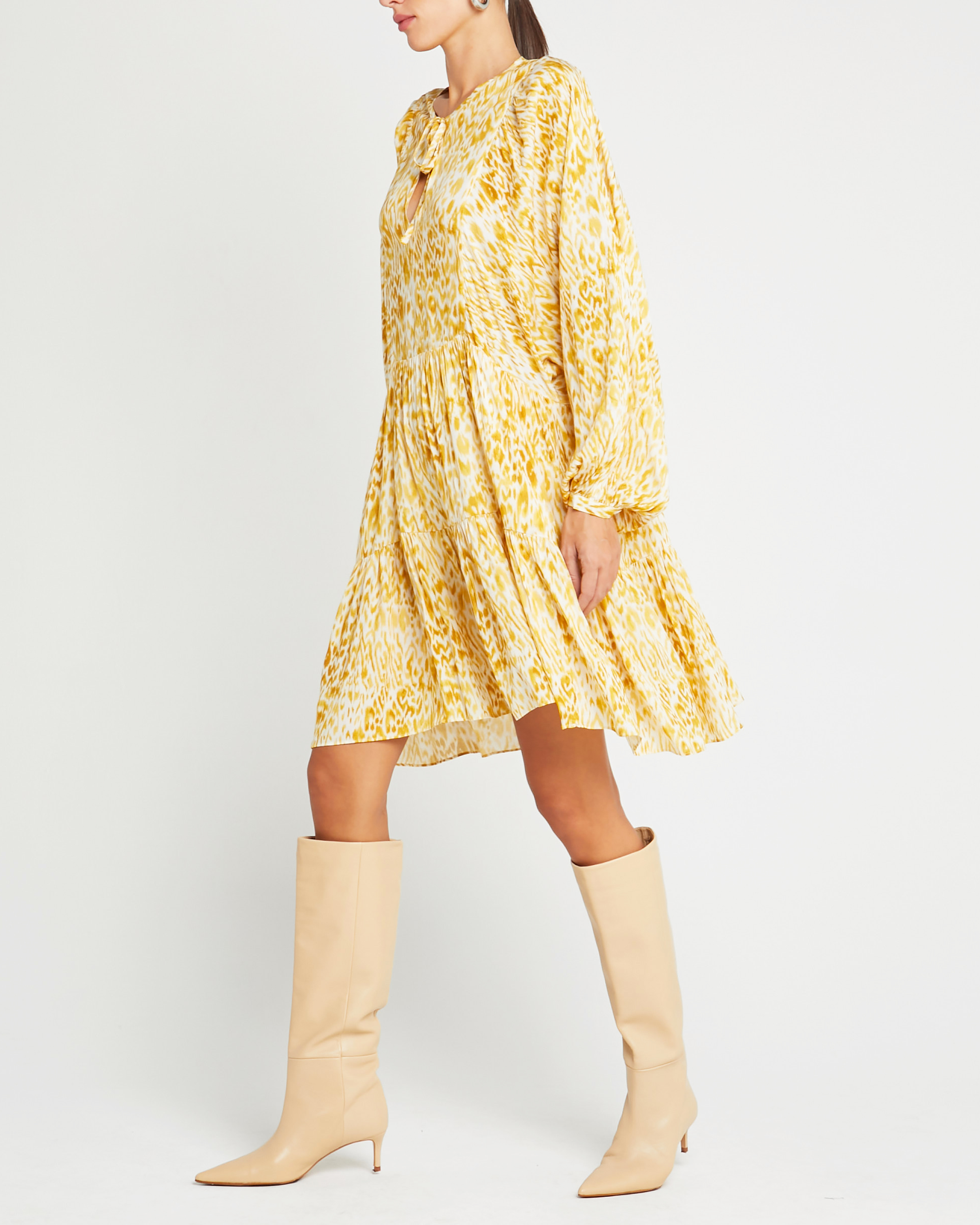 Cotton Oversized Multi Dress