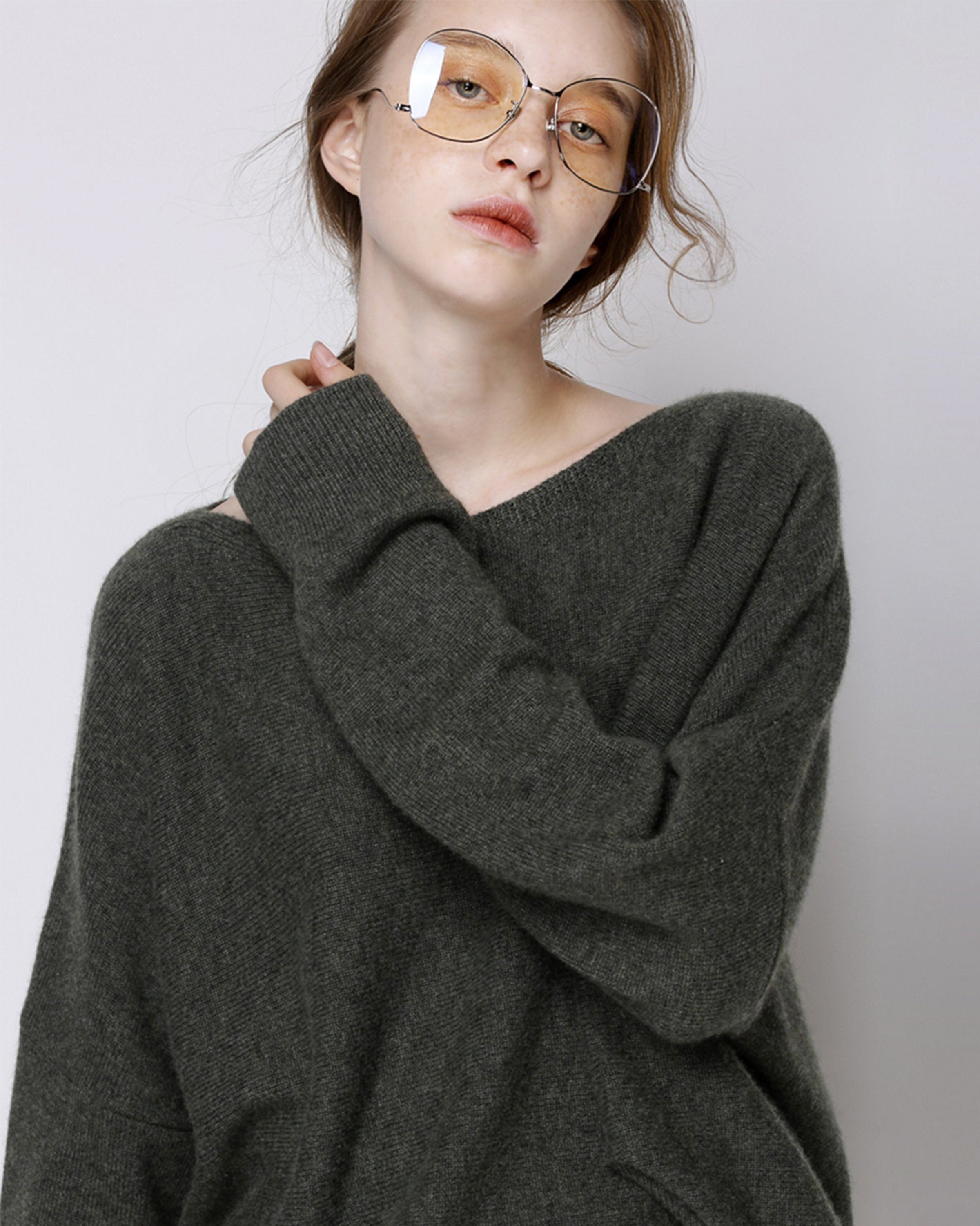 Neyele Olive Sweater