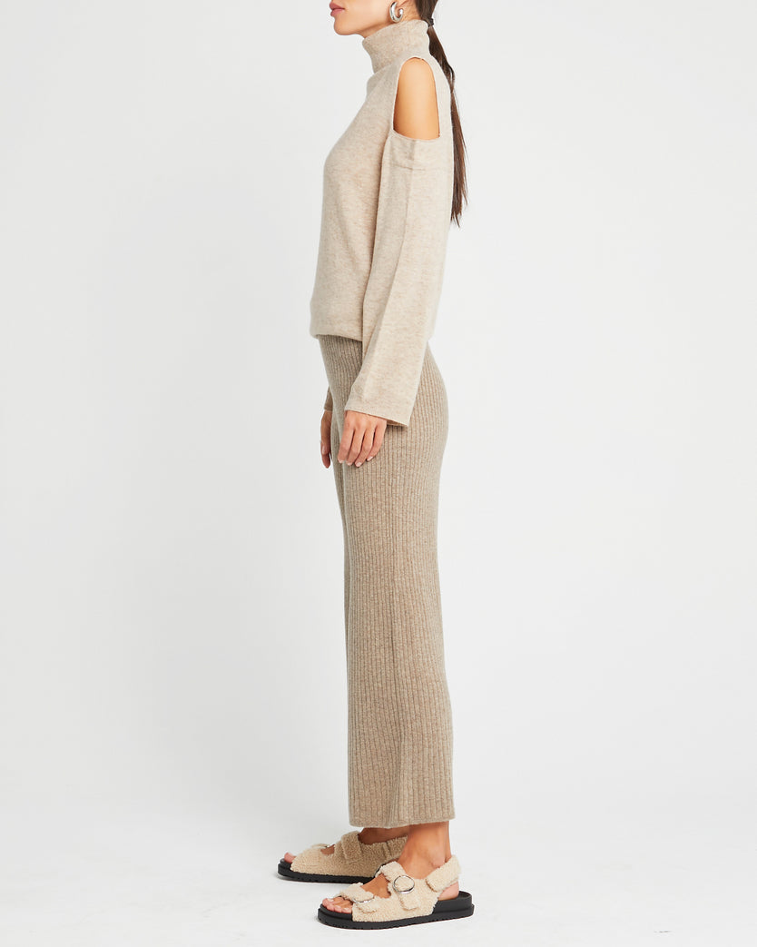 Wool and Mohair Blend Lounge Pant