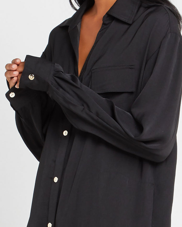 Island Silk<sup>TM</sup> Button Robe