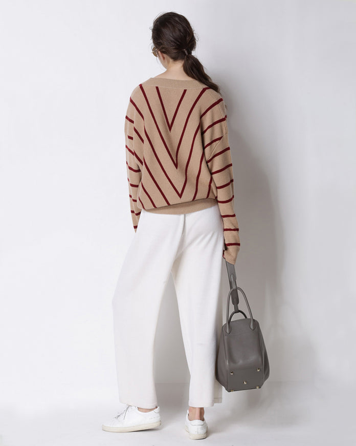 Kathryn Striped Sweater