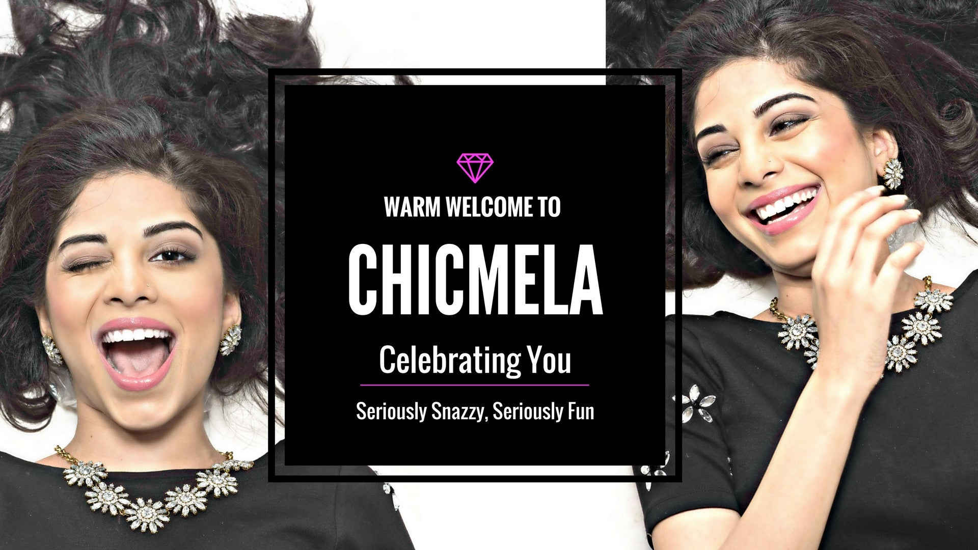 Welcome to ChicMela.com. Celebrating You. Snazzy and fun fashion jewellery. Free shipping and returns in India. Worldwide shipping.