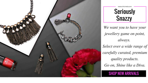 Snazzy, super stylish fashion jewellery, wide selection of premium quality products in India