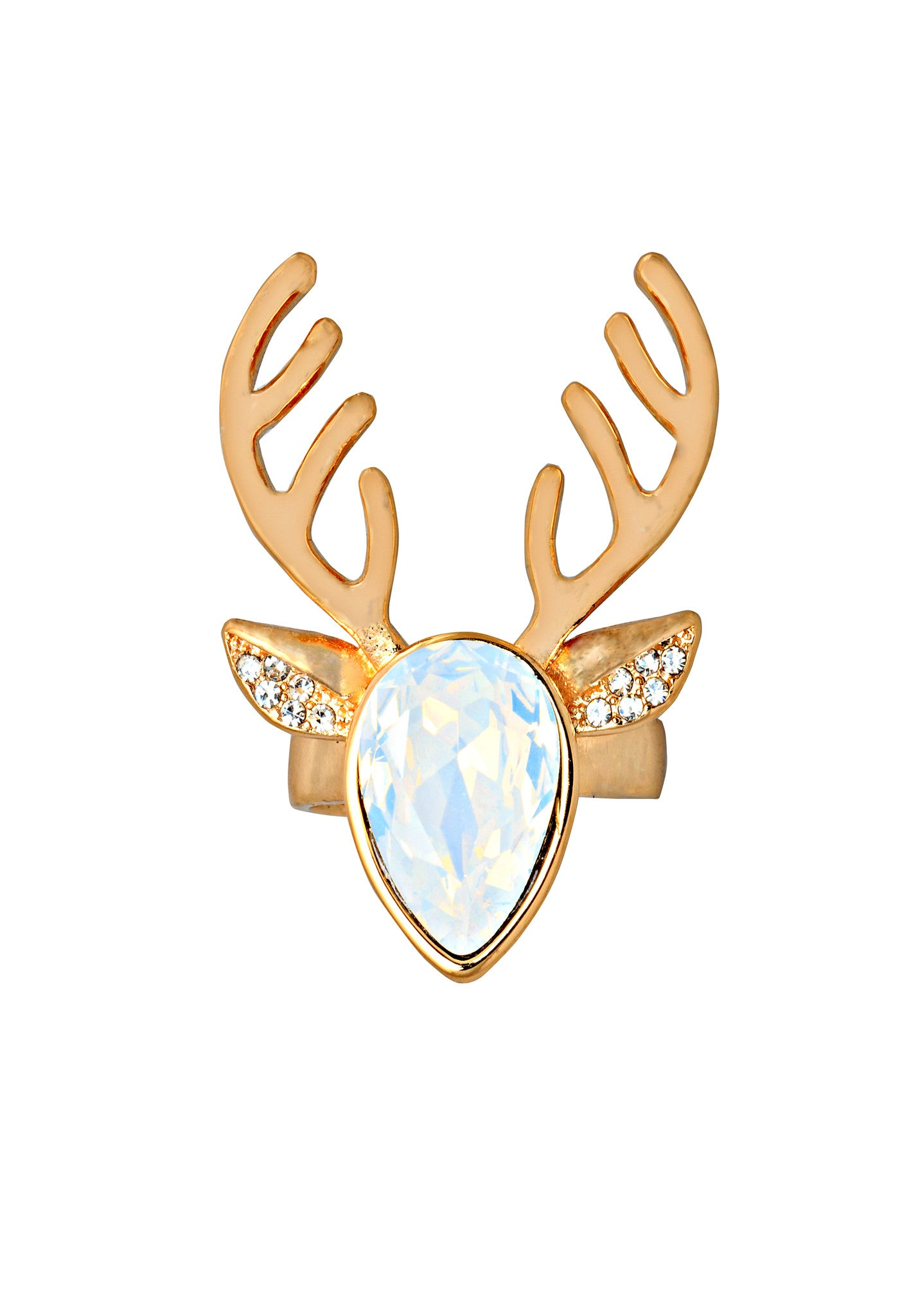 My Deer Opal Ring - ChicMela