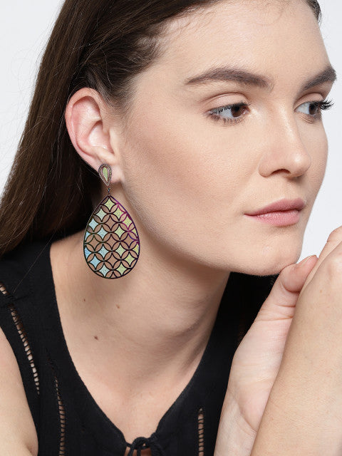 Geometry 3D Earrings - ChicMela