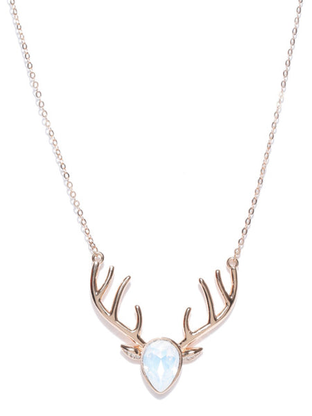My Deer Opal Collar Necklace