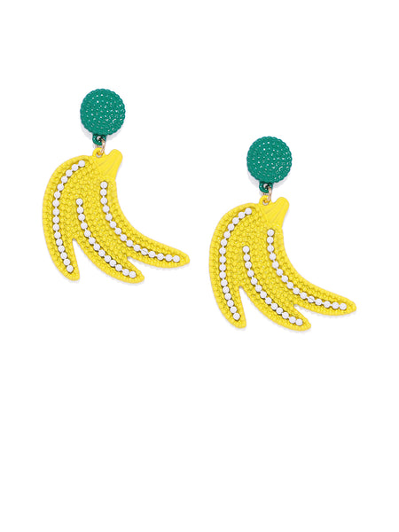 Banana Drop Earrings