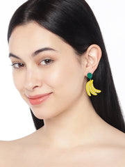 Banana Drop Earrings - ChicMela