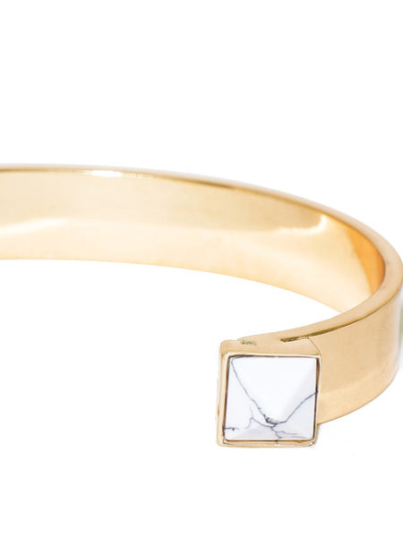 Marble Gold Cuff - ChicMela