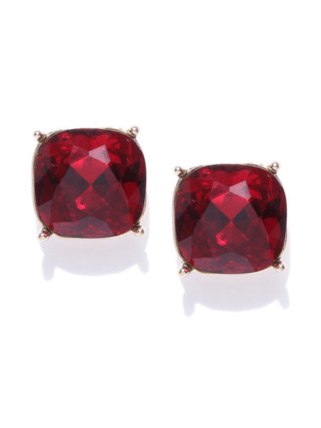 Workwear Studs-Ruby
