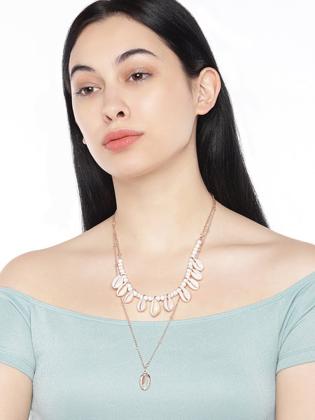 Natural Shell Layered Necklace