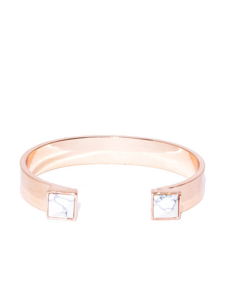Marble Rose Gold Cuff