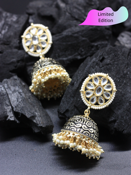 Limited Edition- Festive Black Jhumka